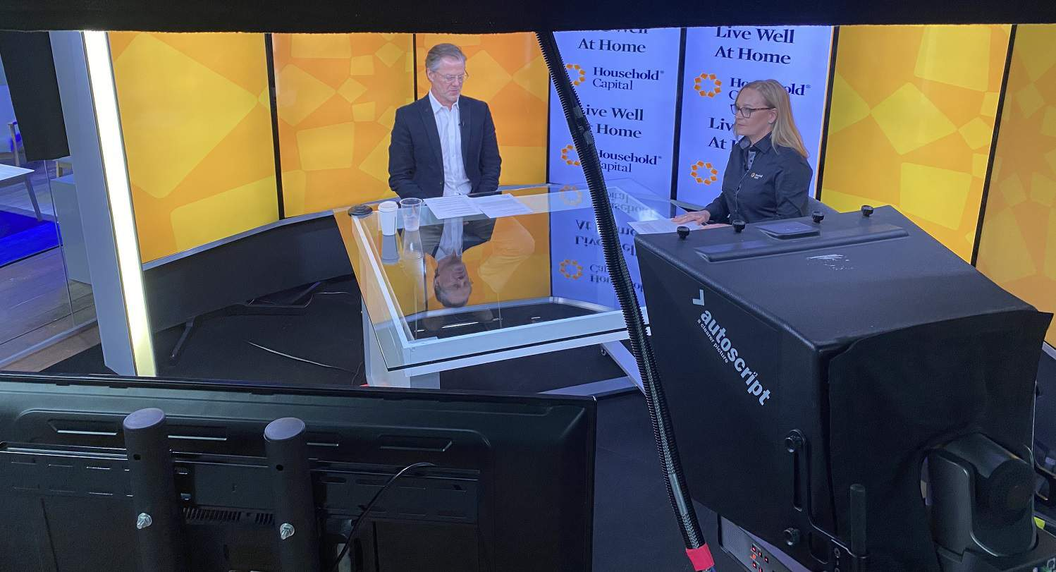 Third Pillar Forum filming with Josh Funder and Shelly Wettenhall